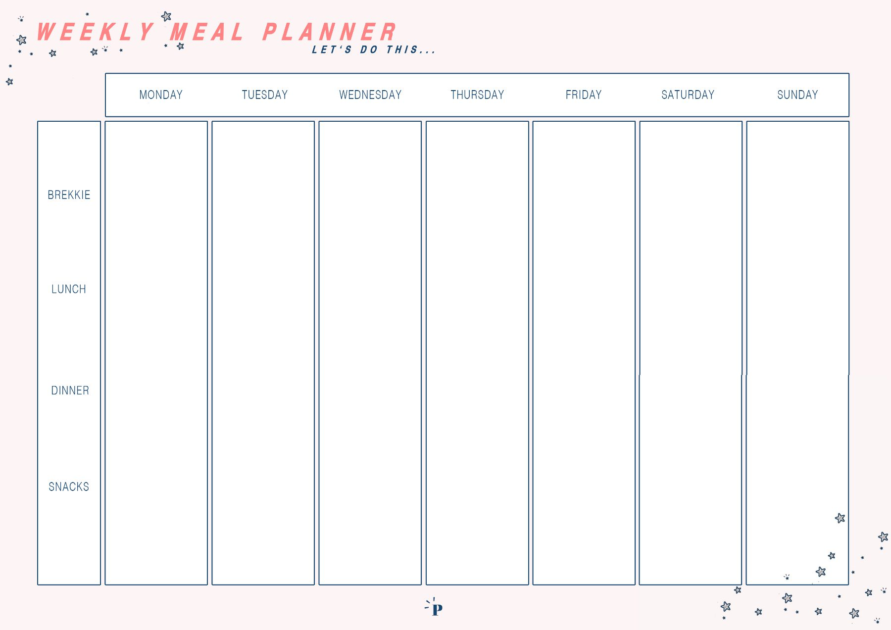 a beginners guide to meal planning poppy deyes